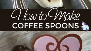 DIY Valentine's Day Coffee Spoons with Printable Tags