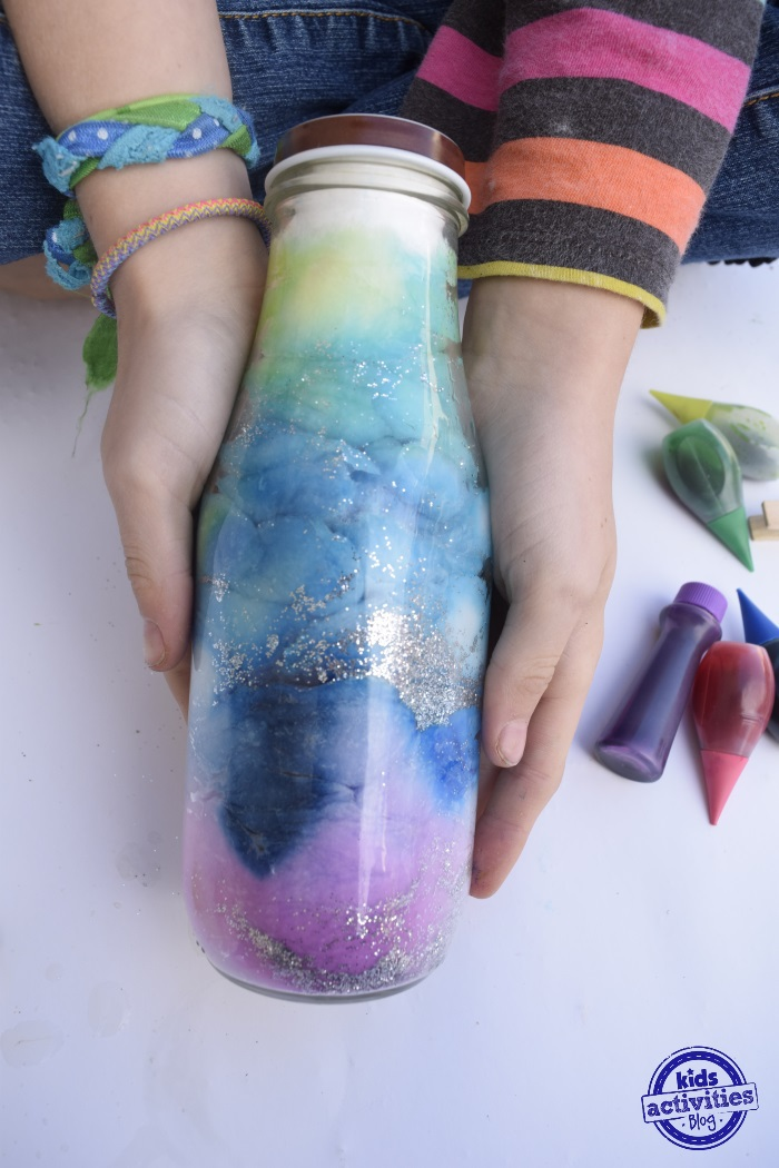 DIY Galaxy Jar (Sensory Bottle)
