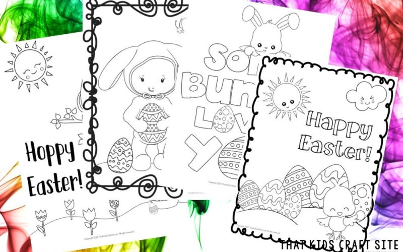 Free Printable Easter Coloring Pages for Kids - That Kids Craft Site