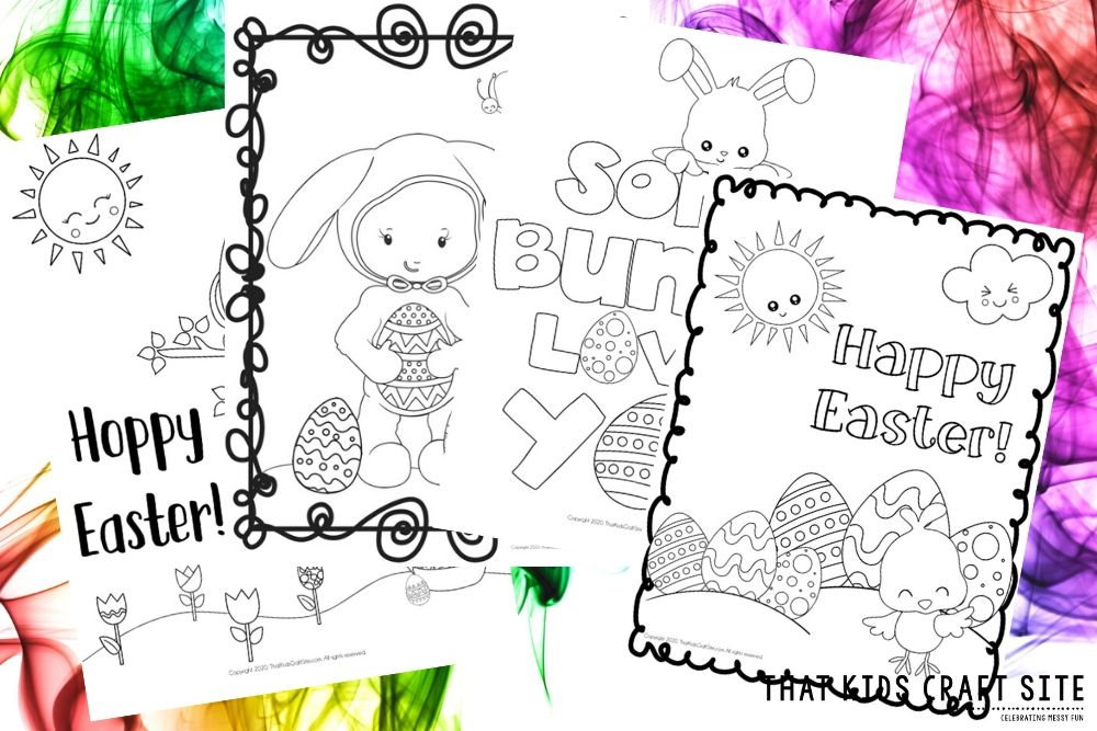 Free Easter Coloring Pages Coloring Sheets For Kids That Kids Craft Site