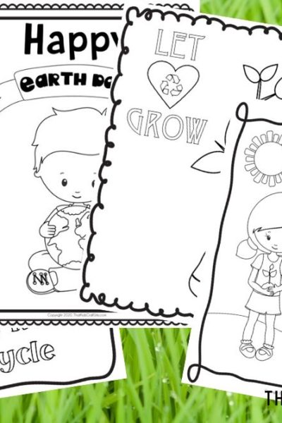 Free Printable Earth Day Coloring Pages for Kids - That Kids Craft Site