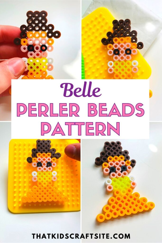 Belle Perler Beads Pattern