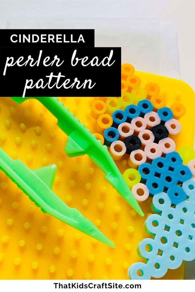 Cinderella Perler Bead Pattern