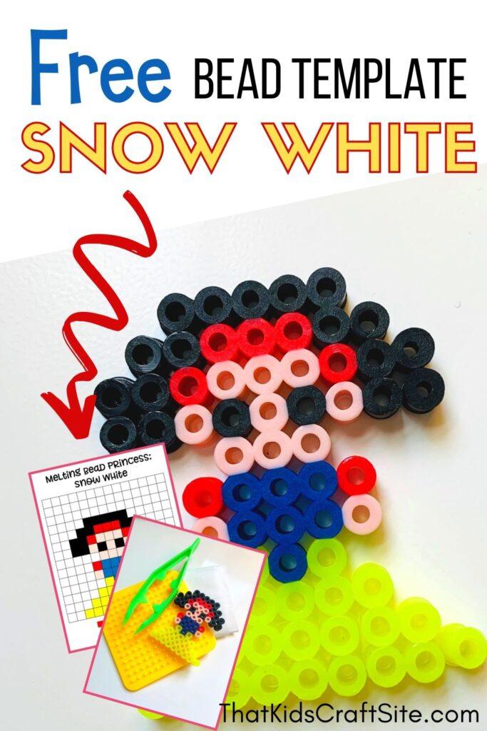 Snow White Perler Beads Pattern