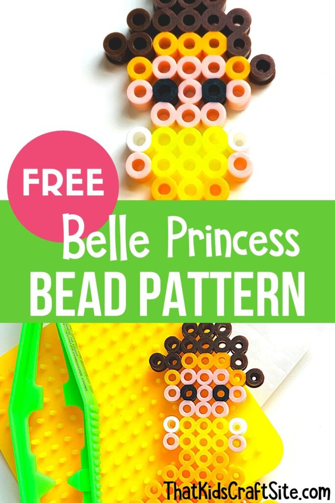 Free Belle Princess Bead Pattern