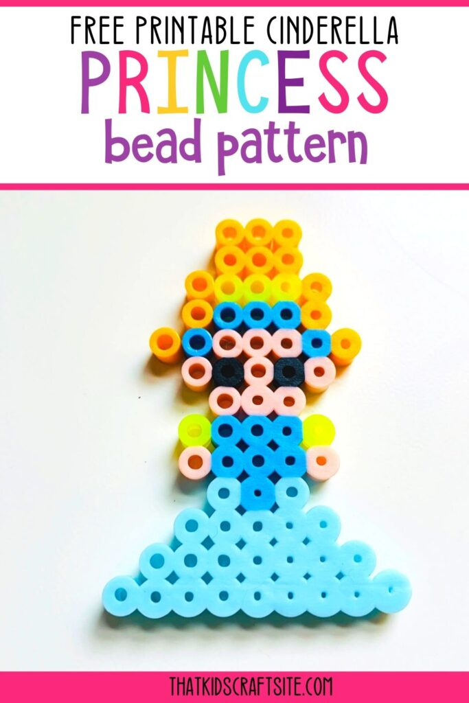 Free Printable Cinderella Princess Bead Pattern