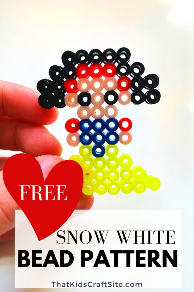Free Snow White Princess Perler Beads Pattern