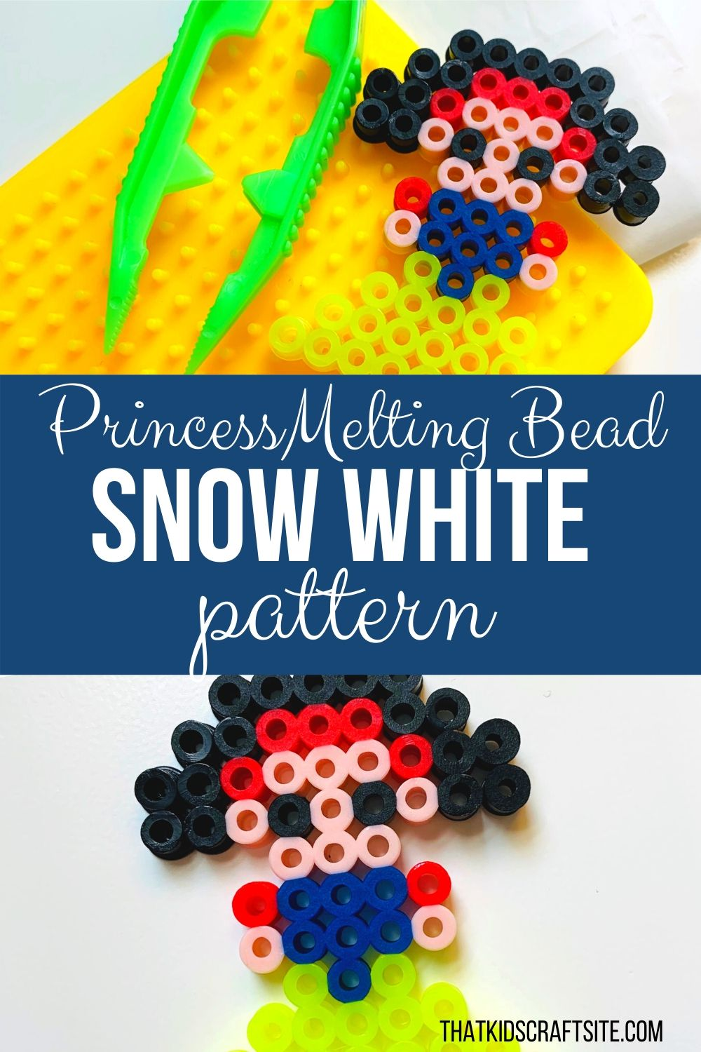 Princess Snow White Perler Beads Pattern