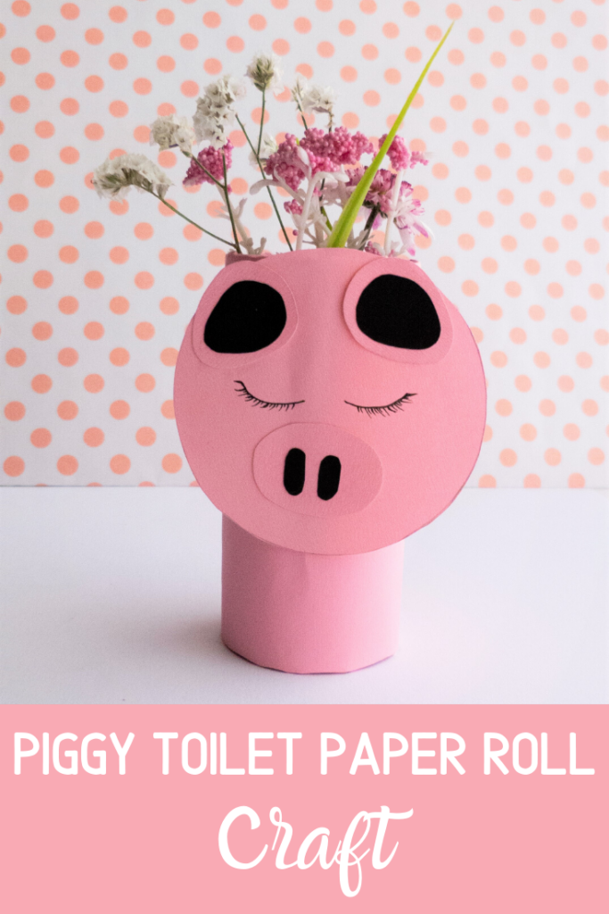 Pig Toilet Paper Roll Craft