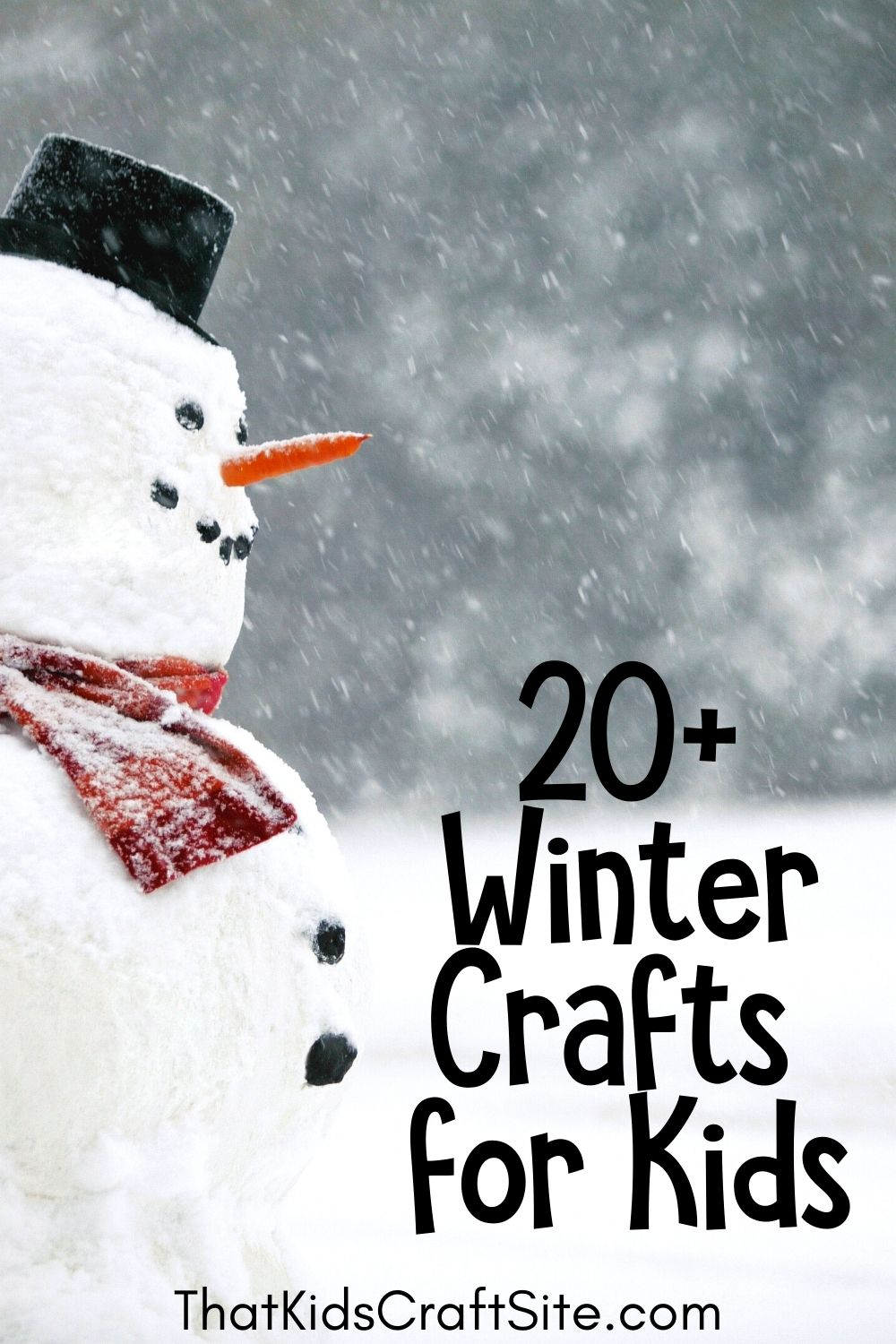 20+ Winter Crafts for Kids