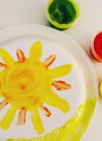 Edible Finger Paint Recipe for Kids