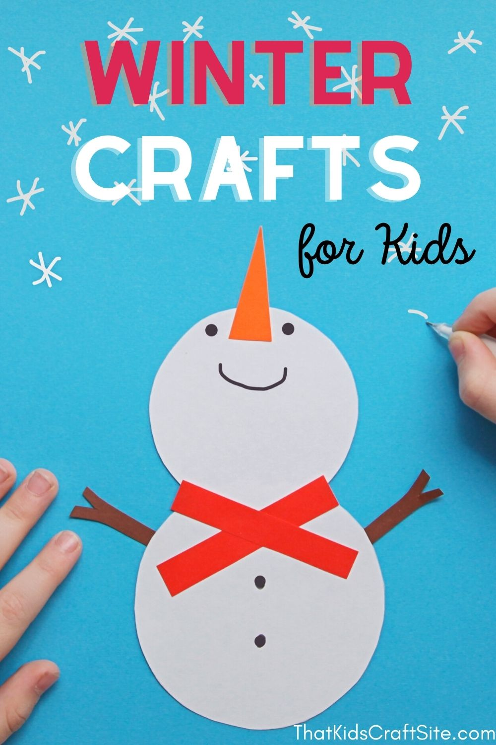 Super Fun and Easy Winter Crafts for Kids